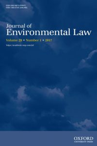 Journal of Environmental Law