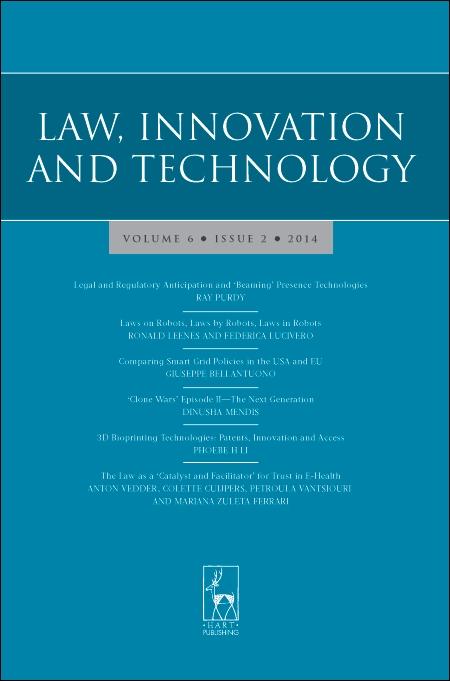 Law, Innovation and Technology