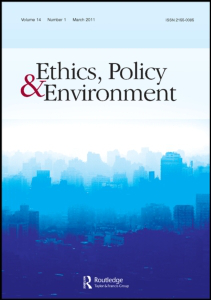 Ethics, Policy & Environment