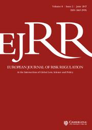 European Journal of Risk Regulation