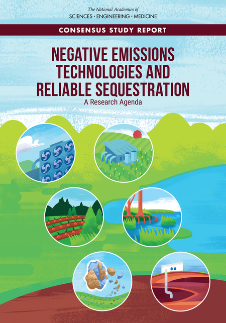 """""""Negative Emissions Technologies and Reliable Sequestration: A Research Agenda"""" from the US National Academies"""