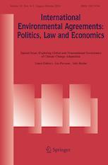 International Environmental Agreements: Politics, Law and Economics cover