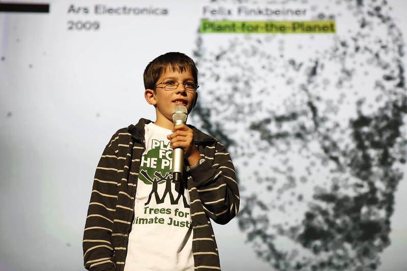 Felix Finkbeiner in 2009, via Flickr user rubra